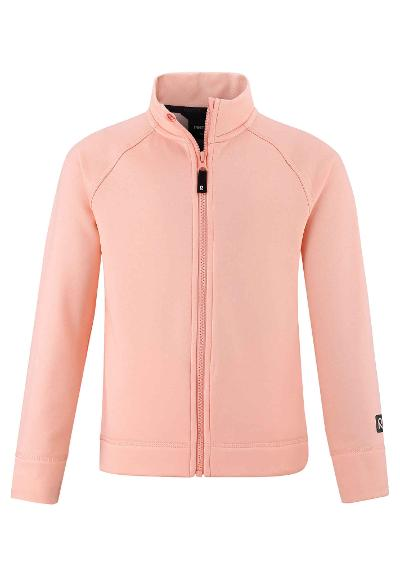 Kids' sweat jacket Toimien Powder pink