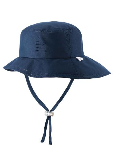 Solhatt barn Tropical Navy