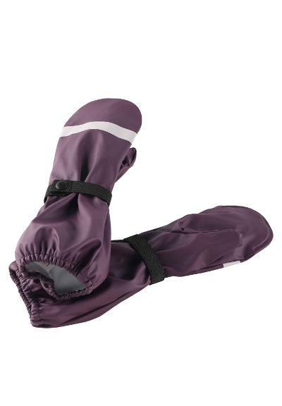 Kinder Regenhandschuhe Kura Deep purple