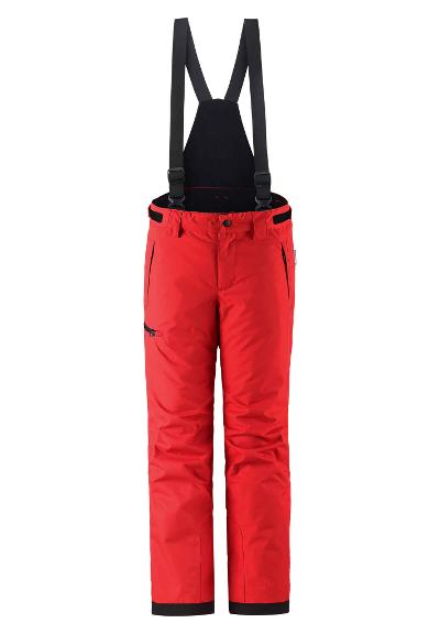 Kids' ski trousers Terrie Tomato red