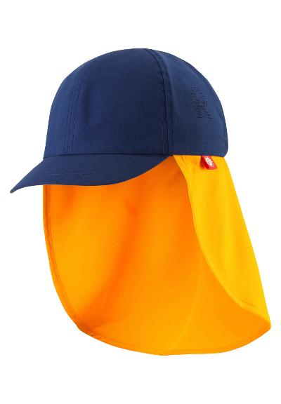 Barn UV-solhatt Tropisk Navy blue