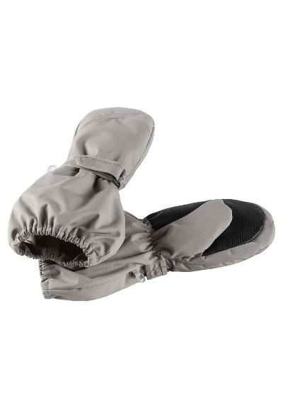 Kids' winter mittens Tomino Soft grey