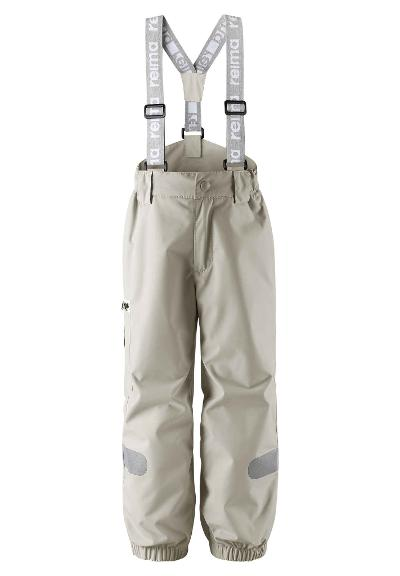 Kids' lightweight wadded trousers Tiksi Stone beige