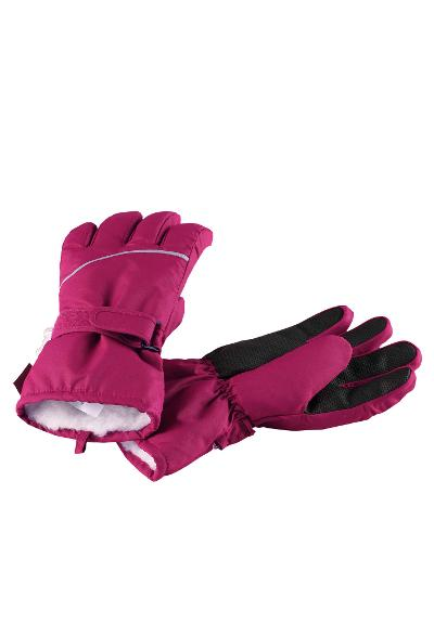 Kids' winter gloves Harald Dark berry