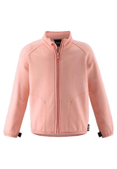 Kids' sweat jacket Toimiva Powder pink