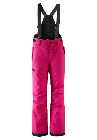 Juniors' ski trousers Terrie Raspberry pink