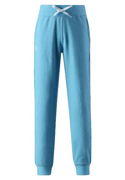 Lasten collegehousut Halvstikk Light blue