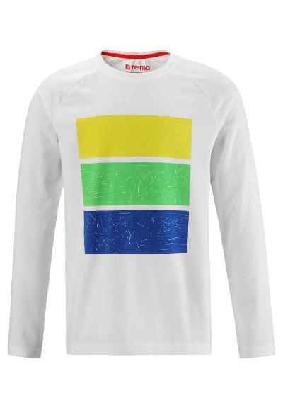 Kids' long sleeve T-shirt Kortelli White