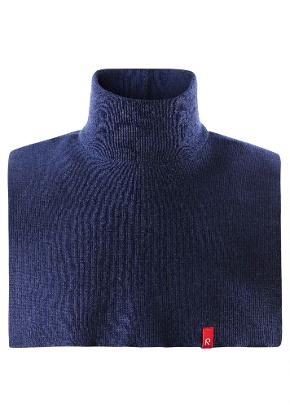 Kids' wool neckwarmer Star Navy