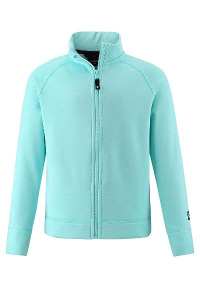 Kinder Sweatjacke Toimien Light turquoise
