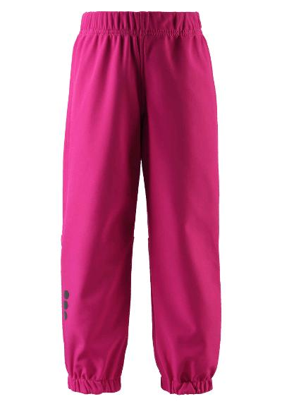 Kids' softshell trousers Oikotie Raspberry pink