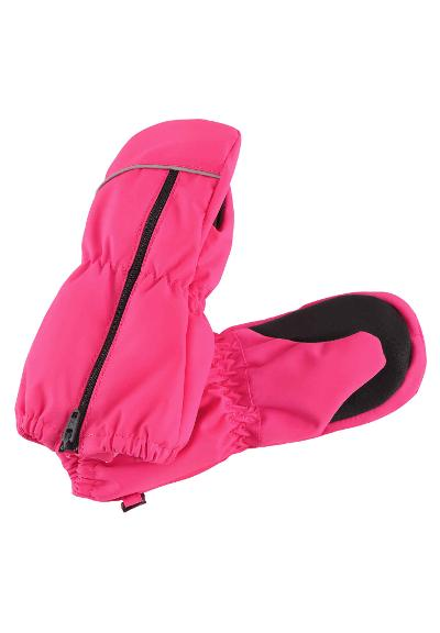 Toddlers' waterproof mittens Litava Candy pink