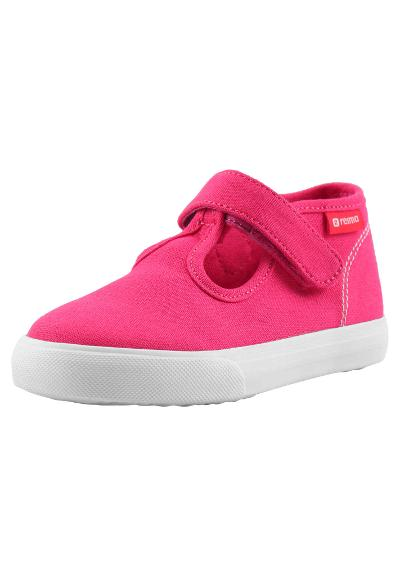 Toddlers' canvas shoes Sorea Berry pink