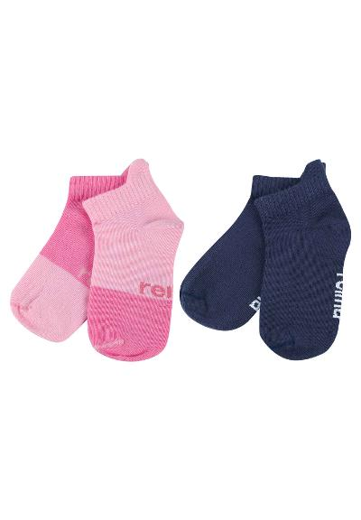 Kinder Socken Summer Day 2er Pack  Rose pink
