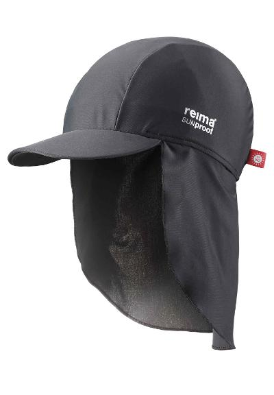 Barn UV-solhatt Turtle Soft black