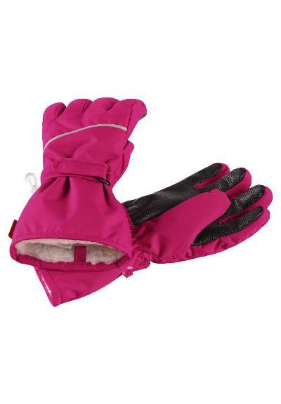 Kinder Winter Handschuhe Harald Cranberry pink