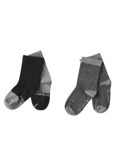 Kindersocken My Day Melange grey
