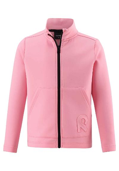 Kids' sweat jacket Vigur Bubblegum pink