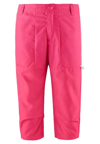 Kids' capri trousers Bjorby Berry pink