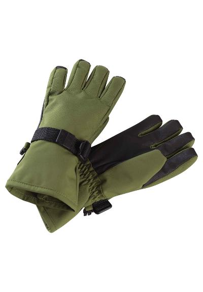 Kinder Winter Handschuhe Tartu Khaki green