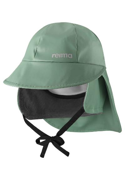 Kids' rain hat Rainy Forest green