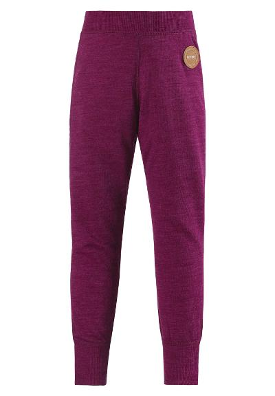 Kids' wool pants Misam AW18 Dark berry