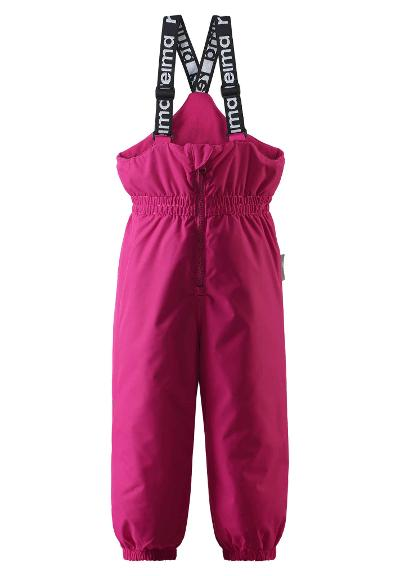 Toddlers' winter trousers Matias Raspberry pink