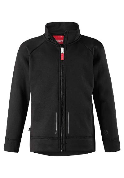 Kinder Fleecejacke Lierne Black