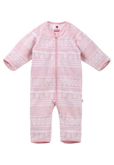 Baby Fleeceoverall  Laulu Powder pink