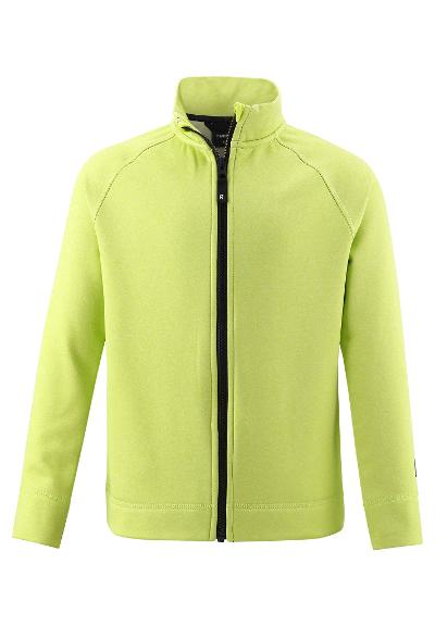Kinder Sweatjacke Johtaen Lime green