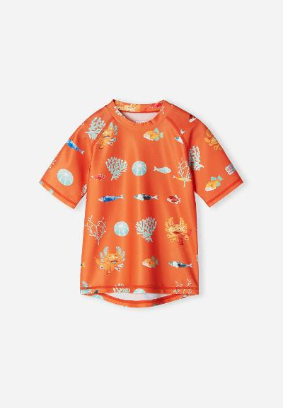 Kleinkinder UV-Shirt Pulikoi Orange