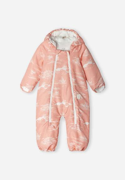 Baby Overall Moomin Dalen Soft peach