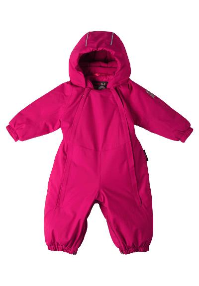 Baby dunoverall Ailu Cranberry pink