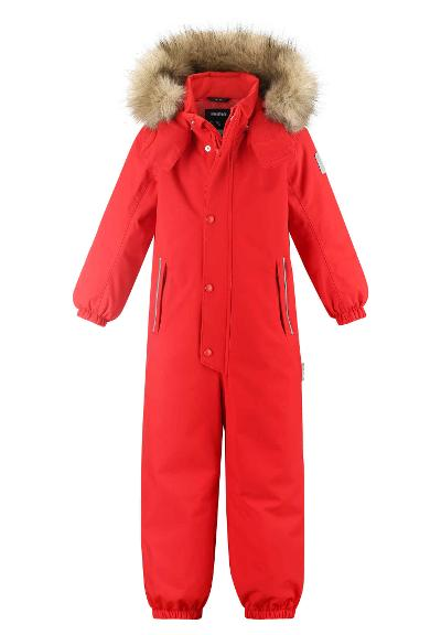 Kids' winter snowsuit Stavanger Tomato red