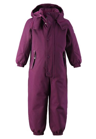 Barn vinteroverall Kuusamo Deep purple
