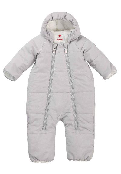 Vinterflyverdragt til baby Lumikko Light grey