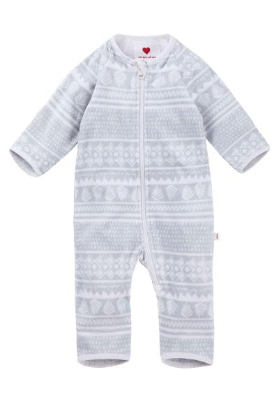 Baby Fleeceoverall  Laulu Off white