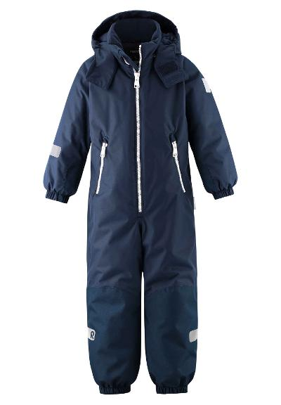 Kiddo vinterdress barn Finn Navy