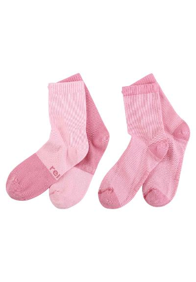 Kindersocken My Day 2er Pack  Rose pink