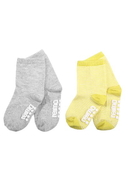 Kinder Anti-Rutsch Socken Heimi   Lemon yellow