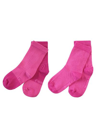 Kindersocken My Day 2er Pack  Raspberry pink