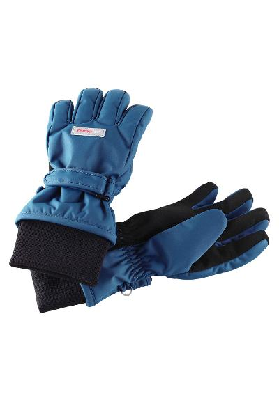 Reimatec kids' waterproof winter gloves Tartu Denim blue