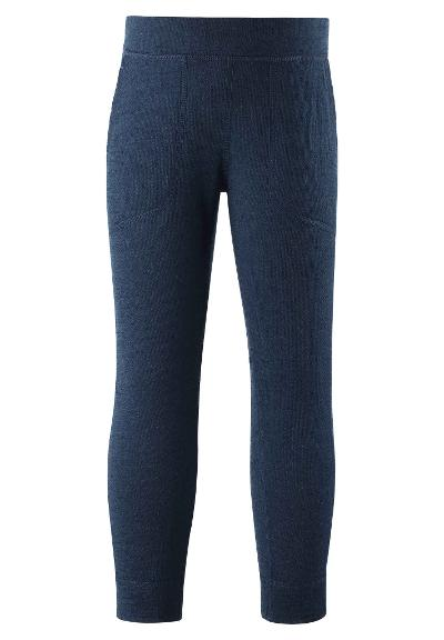 Kids' wool trousers Sprucy Navy