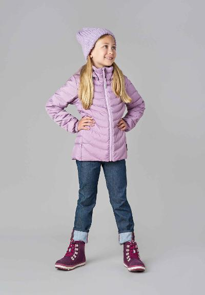 Kinder Daunenjacke Fern Heather pink