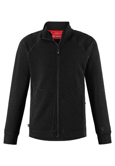 Kinder jacke Muddus Black