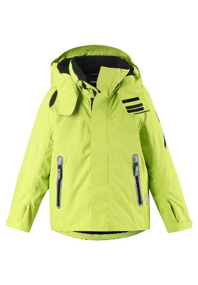 Kinder Skijacke Regor Lime green