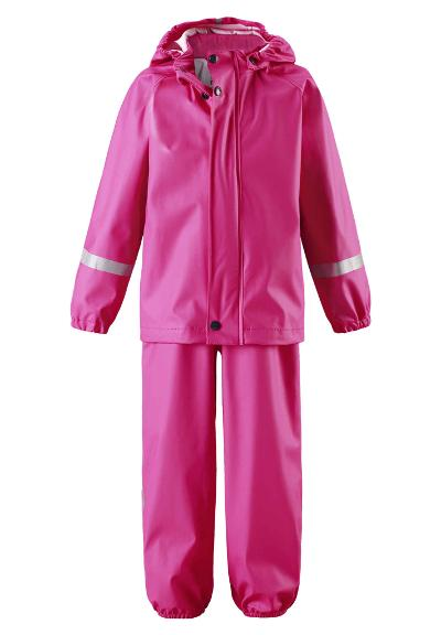 Toddlers' rain outfit Tihku Pink