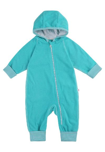 Baby fleeceoverall Jolla Soft turquoise