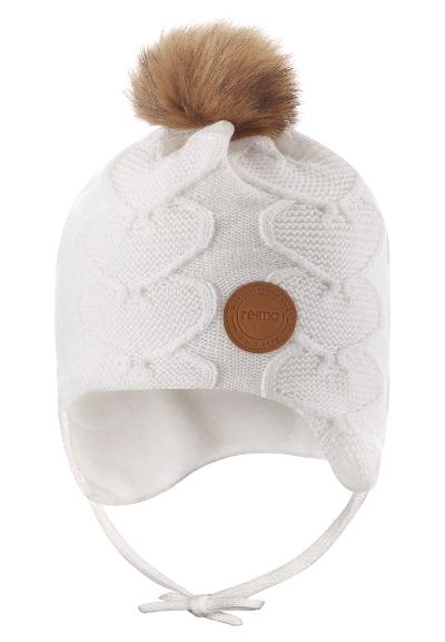 Toddlers' wool beanie Neulos White