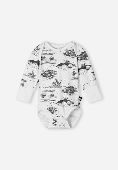 Vauvojen body Moomin Snyggast Off white